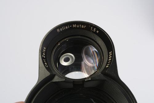 Lente Carl Zeiss Rollei Mutar 1,5x Para Rolleiflex