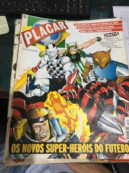 Lote Com 9 Revistas Placar Gigantes Ano 1995