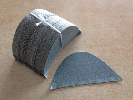 Biqueira/ Couraça Para Produção De Calçados - 50 Pares