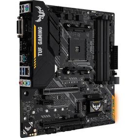 Placa-mãe Asus P/amd Am4 Tuf B450m- Plus Gaming Ddr4