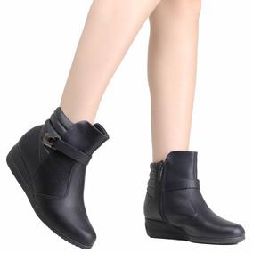 f8cbba6be3 Bota Anabela Piccadilly - Sapatos para Feminino no Mercado Livre Brasil