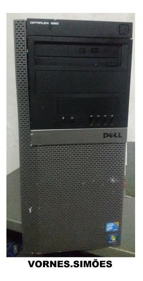 Cpu Dell Optiplex 980 Core I5 4gb Ram Hd De 320 Gb Seminovo