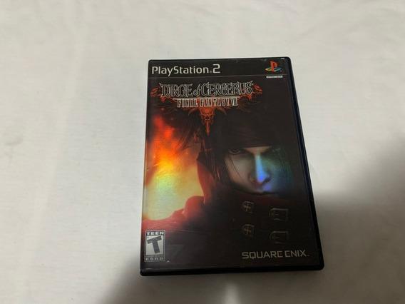 Dirge Of Cerberus: Final Fantasy Vii Ps2 Original Americano