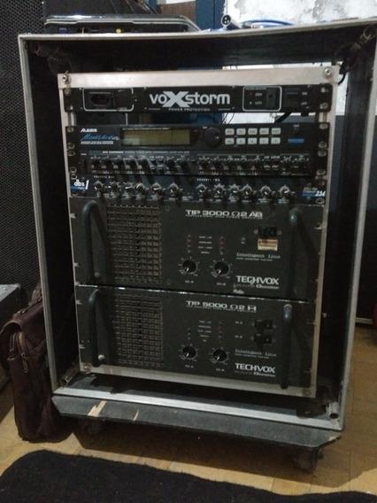 Amplificador Potência Tip 5000, Tip 3000 Ciclotron