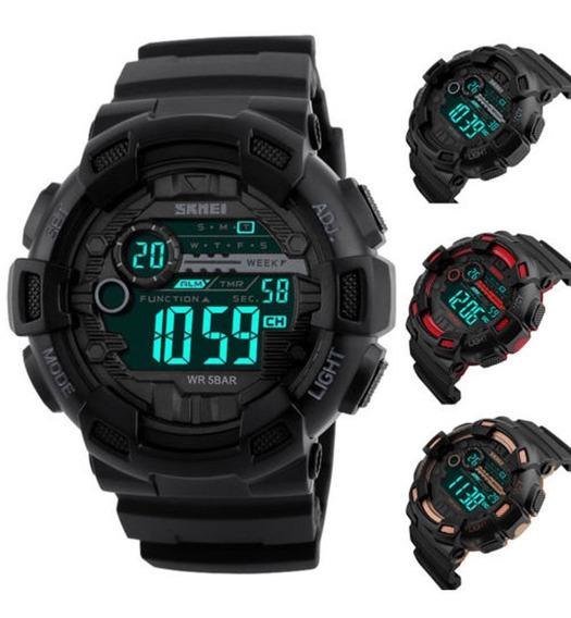 Kit 3 Relógio Skmei Digital Barato Masculino Original P3124