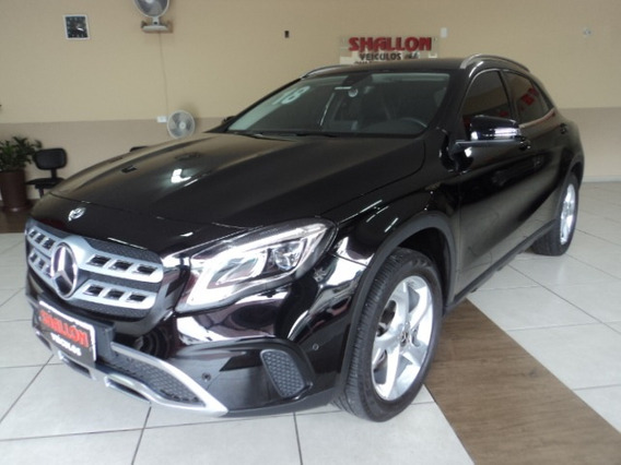 M. Benz Gla1.6 Advance Turbo Flex 5p 2017/2018 Preto