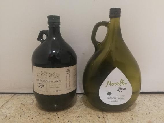 Botellones De Aceite Vacios De 2,25 Litros