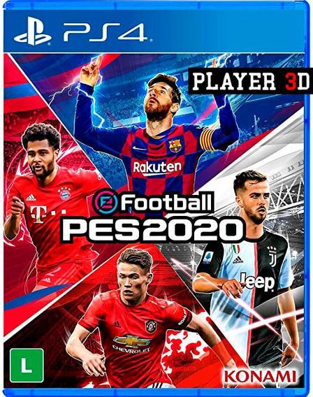 Efootball Pes 2020 Ps4 Psn Mídia Digital - Primaria