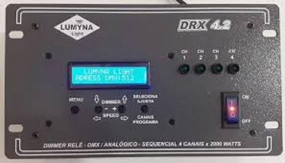 Rack Dmx/analógico/sequencial 4 Canais/ 2000w/ Frete Grátis