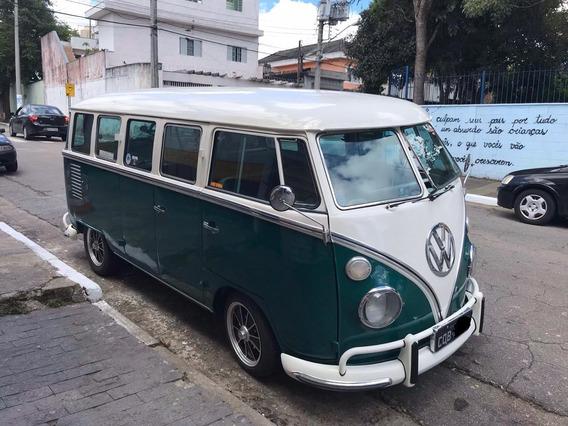Kombi Luxo T1 Vw Bus Split Window 69 Corujinha Antigo Antiga