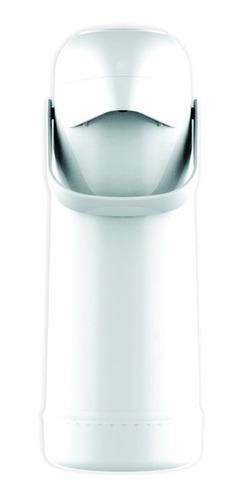 Garrafa Térmica Pressão Magic Pump Branca 1 Litro Termolar