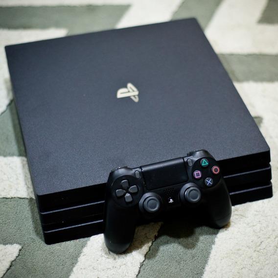Playstation 4 Pro Usado (1 Controle, Garantia 1 Mês) - Ps4