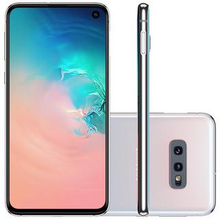 Smartphone Samsung Galaxy S10e Sm-g970f, 4g Android 9.0 128gb Octa Core Câmera Dupla Tela 5.8 , Branco