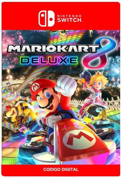 Mario Kart 8 Deluxe - Nintendo Switch - Digital - Codigo