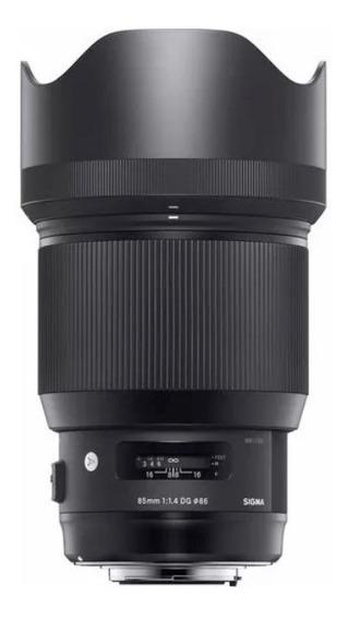 Lente Sigma 85mm 1.4 Dg Hsm Art P/ Nikon Pr.entrega Nfe #