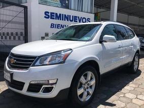 Chevrolet Traverse Lt Piel 2017 Seminuevos