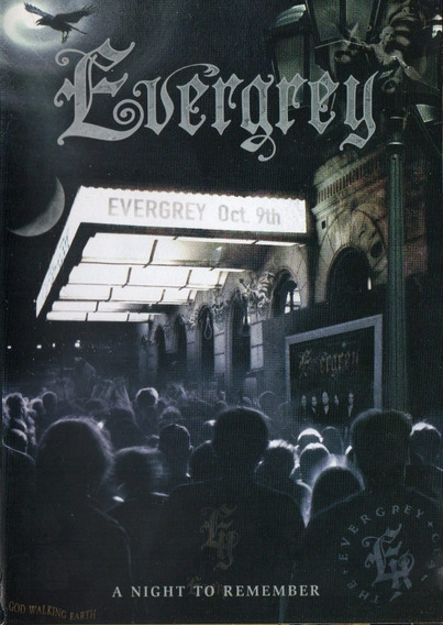 Dvd Evergrey - A Night To Remember - Lacr. Fábrica