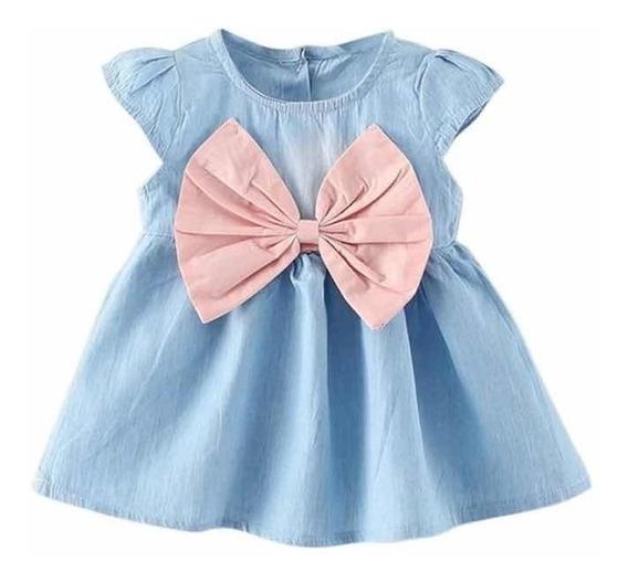 Vestido Feminino Infantil Luxo Laço