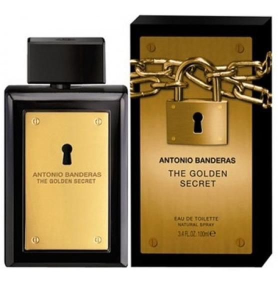 Perfume The Golden Secret Antonio Bandeiras100 Ml Original