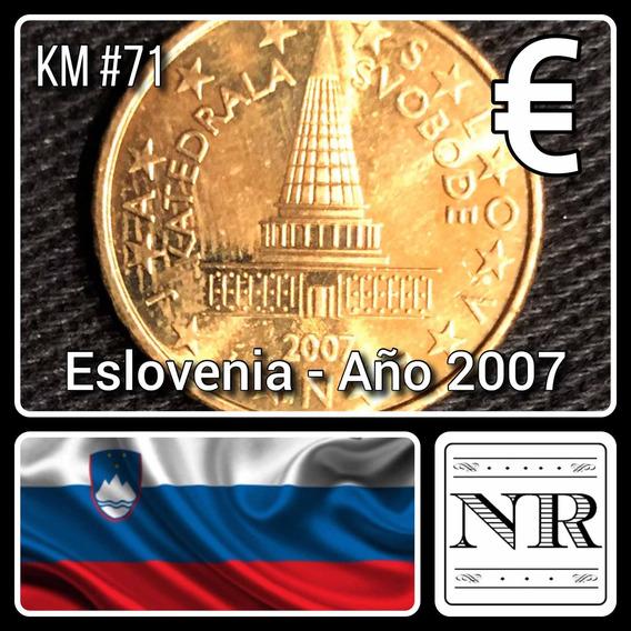 Eslovenia - 10 Euro Cents - Año 2007 - Km # 71 - Parlamento