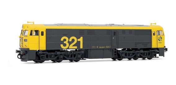 Electrotren Ho - Locomotiva Diesel: Renfe 321.025, Dcc / Som