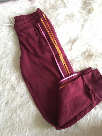 Pantalon De Jogging Nena Old Navy Bordo Con Rayas