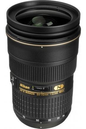 Lente Nikon Fx 24-70mm F  2.8g Ed