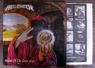 Helloween - Keeper Of Lp Heavy Thrash Metal Sodom Maide G123