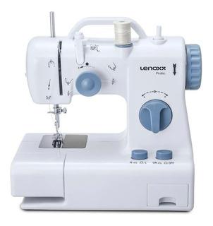 Máquina de costura Lenoxx Practic PSM105 branca e azul 110V/220V