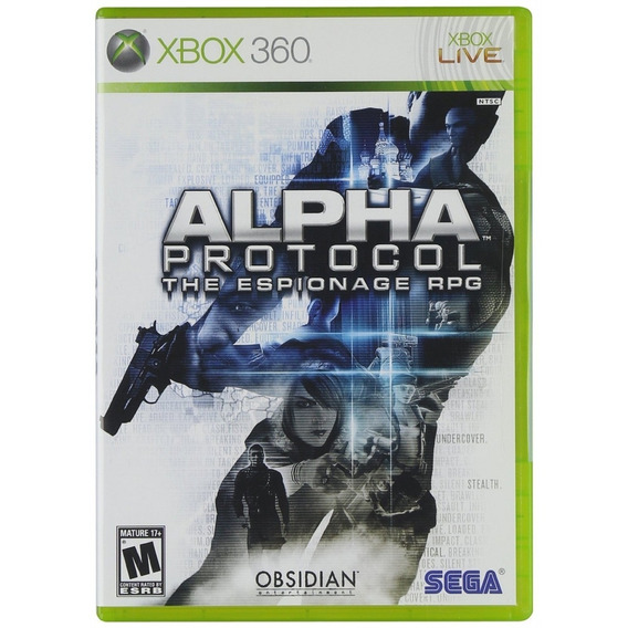 Alpha Protocol The Espionage Rpg - Novo Lacrado Xbox 360