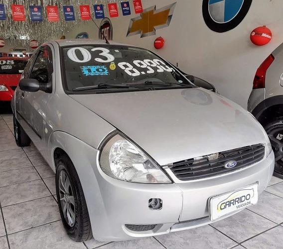 Ford Ka Gl Prata 2003