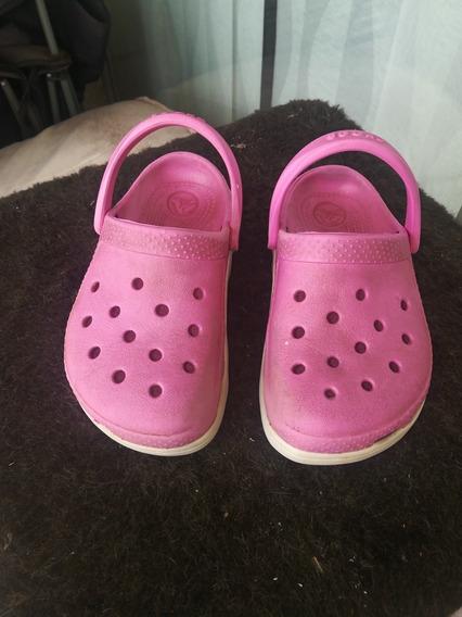 Crocs Originales De Nena Talle 10/11