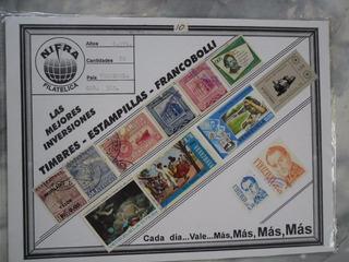 Coleccion De Estampillas De Venezuela Nifra-francobolli
