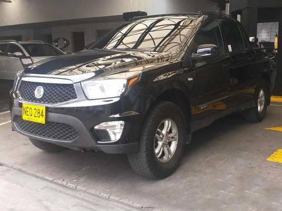 Actyon Sports Diesel 4x4 Mas Bajo