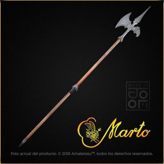 Hacha Alabarda Medieval Real Marto Toledo España Espada Pica