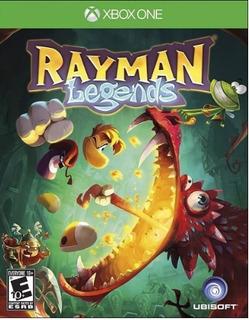 Rayman Legends Xbox One +60 Juegos Deluxe Offline