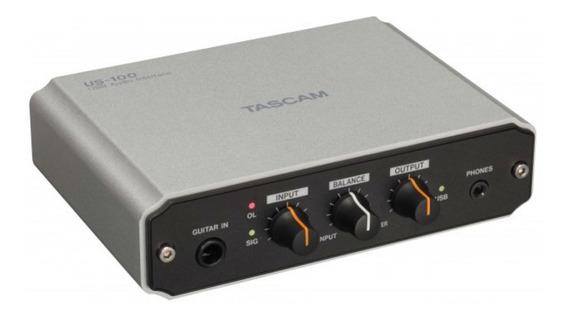 Interface De Áudio De Alta Velocidade Usb 2.0 Us100 - Tascam