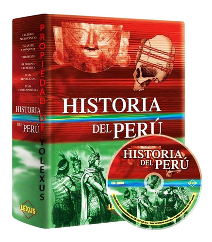 Enciclopedia Historia Del Perú Lexus Original