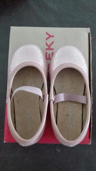 Zapatos Ballerina Rosa.talle.23