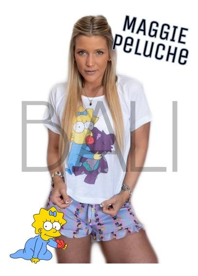 Pijama Corto Conjunto Stitch Palta Friends Homer +20 Modelos