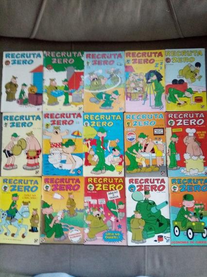 Lote Recruta Zero N.°s Do 153 Ao 216 Ed.rge 1978 A 1980 Jm.g