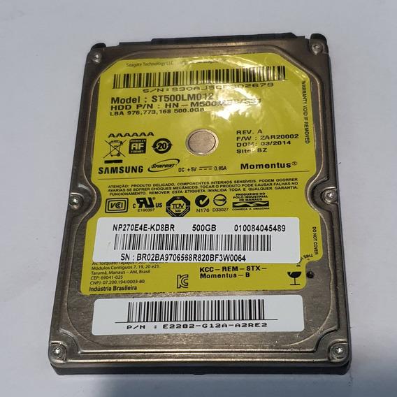 Hd Samsung 500gb Sata Notebook St500lm012 Promoção