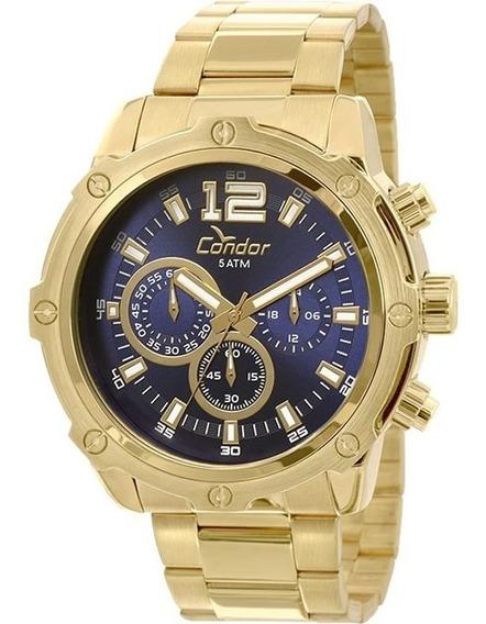 Relógio Condor Masculino Cronógrafo Covd54ae/4a