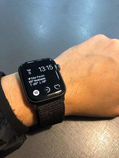 Apple Watch 4 44mm + Pulseira Nylon Sport Loop Original