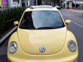 Volkswagen Beetle 2.0 Glx Sport Turbo 5vel Piel Qc Mt 2003