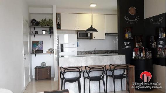 Apartamento Para Venda Em Mogi Das Cruzes, Parque Santana, 2 Dormitórios, 1 Suíte, 1 Banheiro, 1 Vaga - Ap278