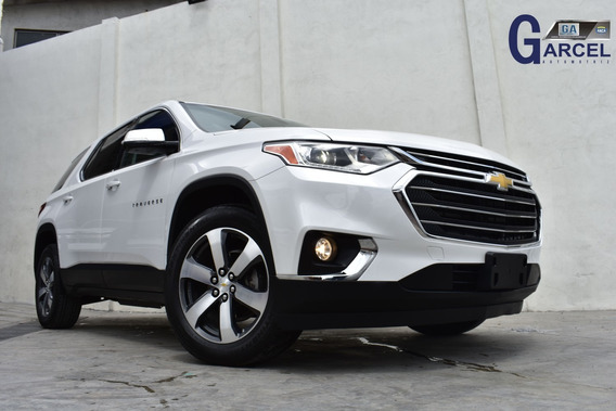 Chevrolet Traverse Lt 2019 14809km Blanco V6