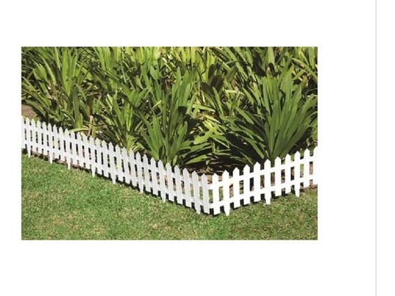 15 Cerca Plastica P Jardim Decorativa Ingles 40,5x19