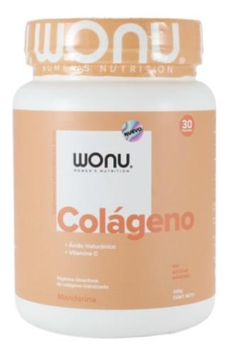 Colágeno Hidrolizado + Ácido Hialurónico  Mandarina Wonu