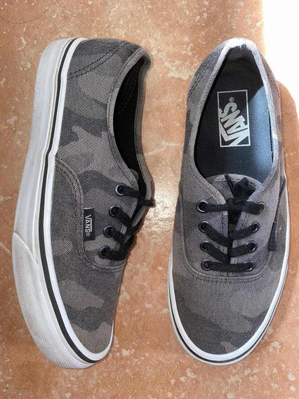Zapatillas Vans Originales Camufladas Excelente Estado